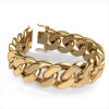 Afbeelding van Cuban link armband ±23 mm 585 goud