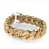 Afbeelding van Cuban link armband ±20 mm 585 goud