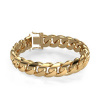 Afbeelding van Cuban link armband ±15 mm 585 goud