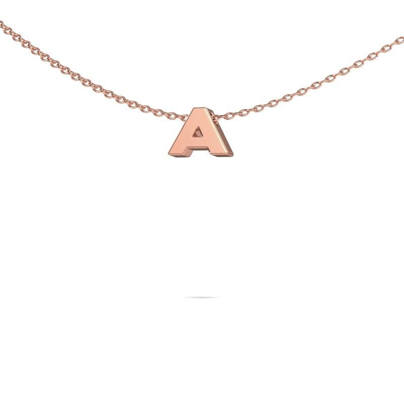 Letter hanger Initial 020 375 rosé goud