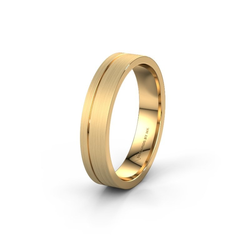 Trouwring WH0158M14XM 375 goud ±4,5x1.5 mm