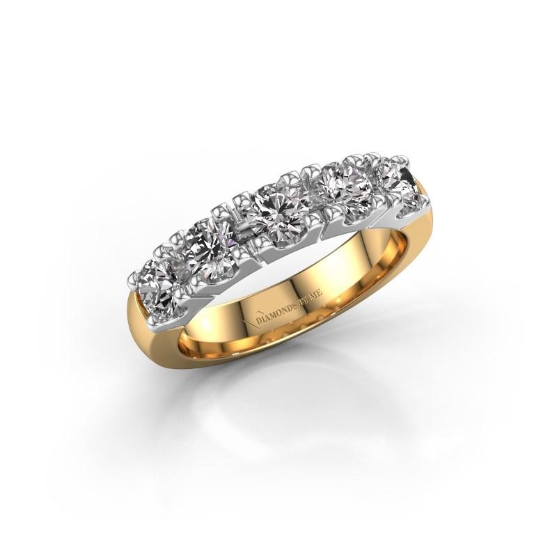Engagement ring Rianne 5 585 gold diamond 1.25 crt