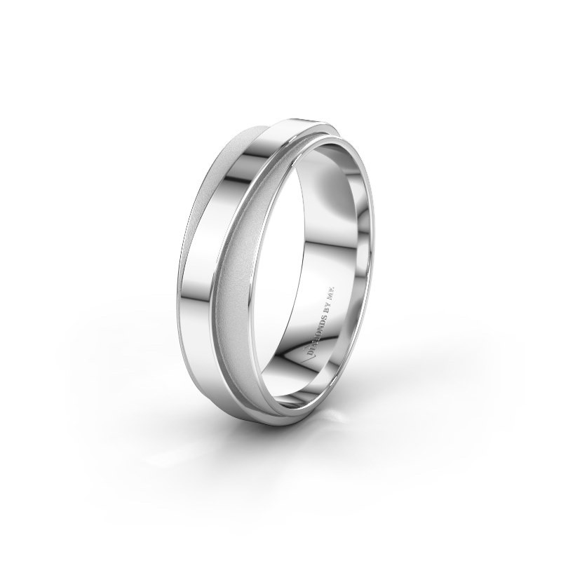 Wedding ring WH2126M 950 platinum ±6x1.7 mm