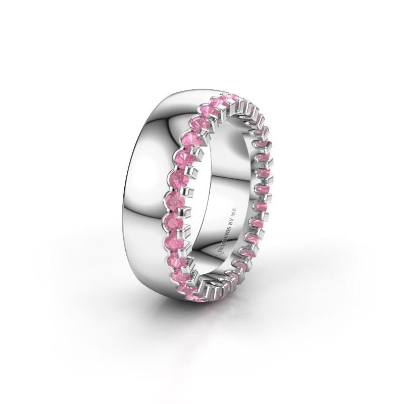 Ehering WH6120L27C 925 Silber Pink Saphir ±7x2.2 mm