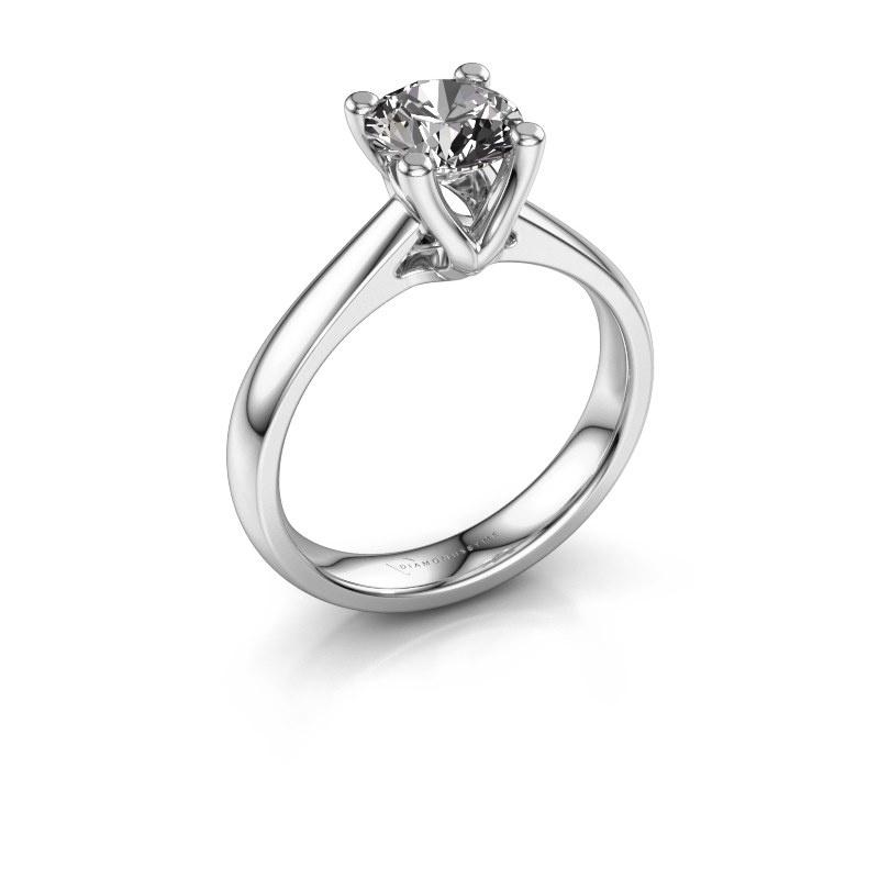 Bague de fiançailles Janna 1 925 argent diamant 1.00 crt
