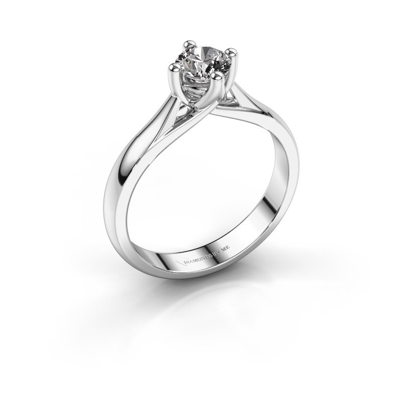 Verlobungsring Janne 925 Silber Diamant 0.50 crt