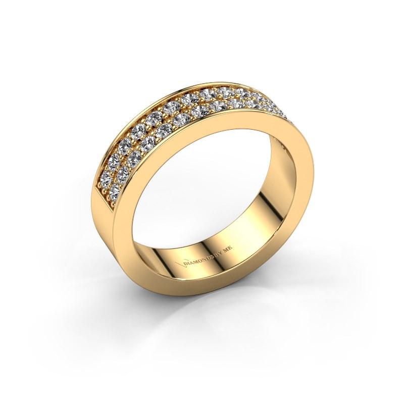 Aanschuifring Catharina 6 585 goud lab-grown diamant 0.56 crt