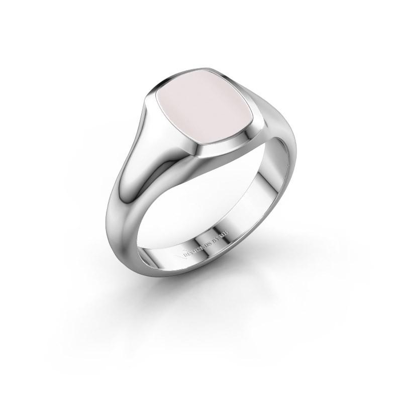 Signet ring Zelda 1 950 platinum red sardonyx 10x8 mm