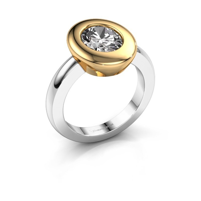 Ring Selene 1 585 witgoud lab-grown diamant 1.80 crt
