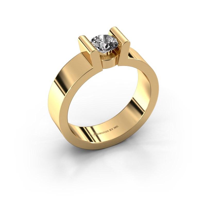 Verlovingsring Sofie 1 585 goud diamant 0.50 crt