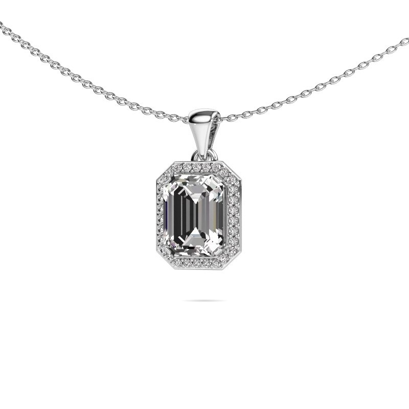 Ketting Dodie 925 zilver lab-grown diamant 2.65 crt