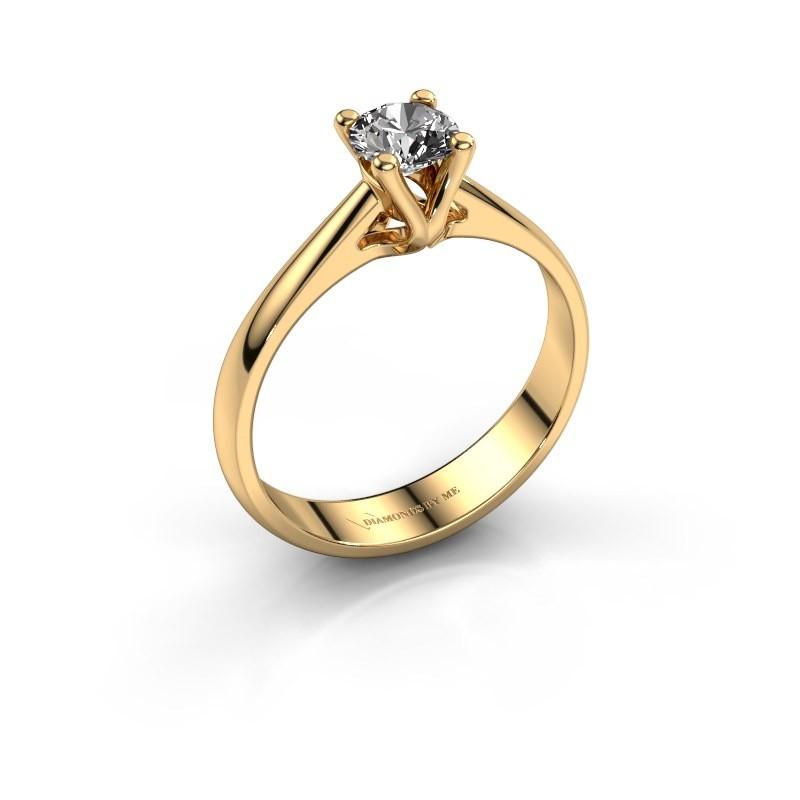 Verlobungsring Janna 1 375 Gold Diamant 0.50 crt