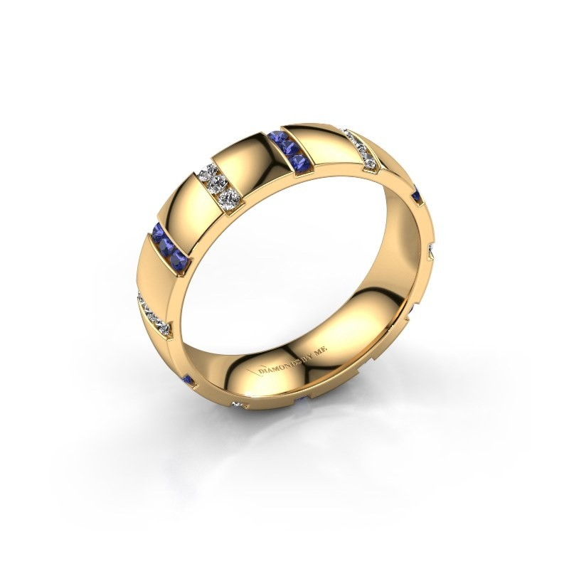 Ehering Juul 375 Gold Saphir ±5x1.8 mm