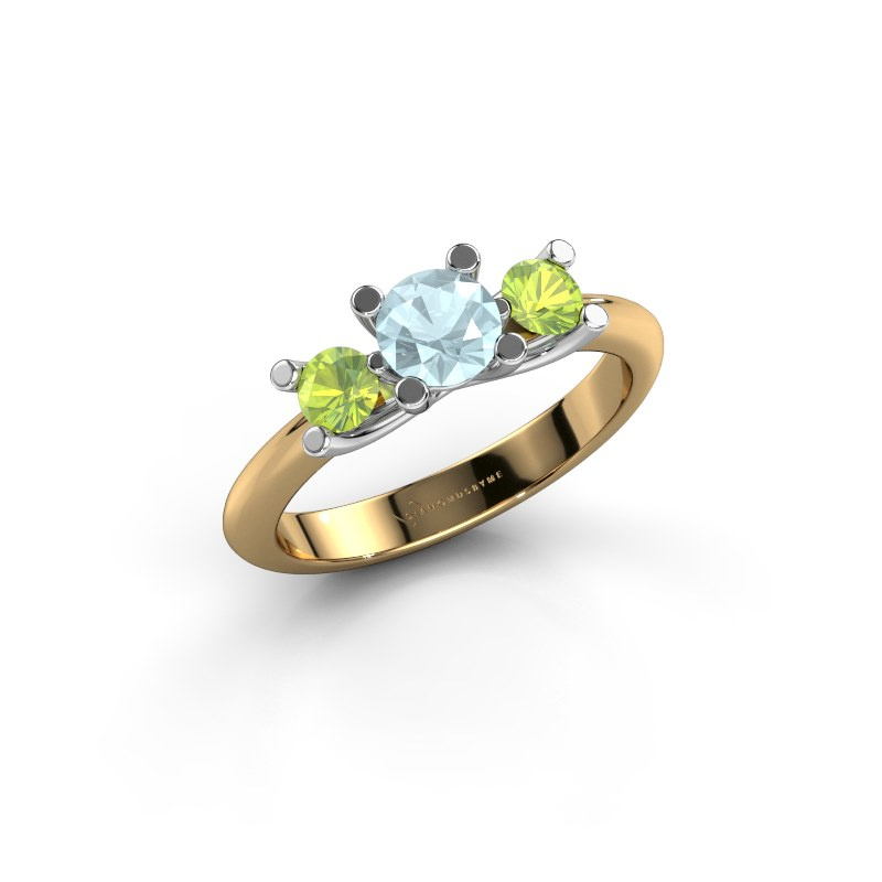 Ring Mirthe 585 Gold Aquamarin 5 mm