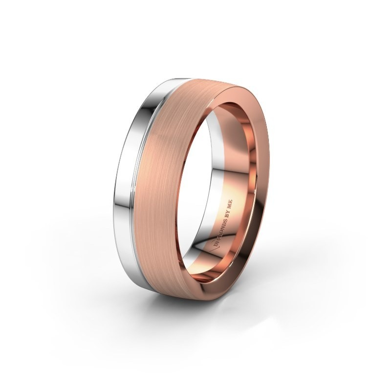 Wedding ring WH2224M26C8 585 rose gold ±7x2.2 mm