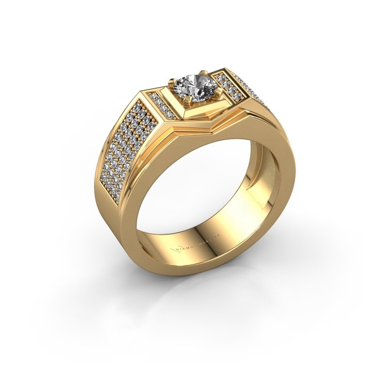 Heren ring Marcel 585 goud lab-grown diamant 1.04 crt