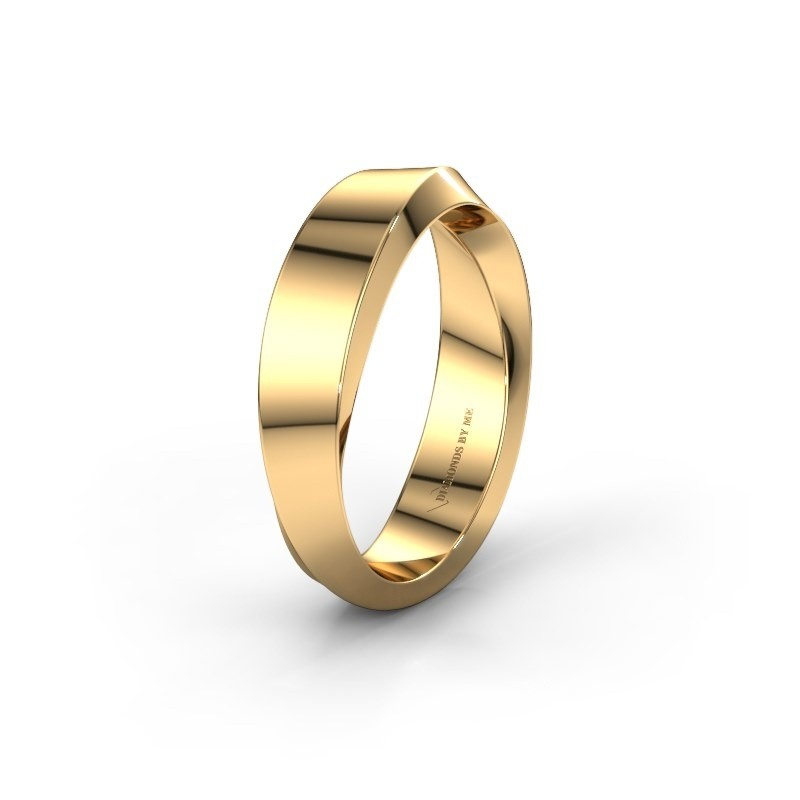 Wedding ring WH2232M15E 585 gold ±0.20x0.1in