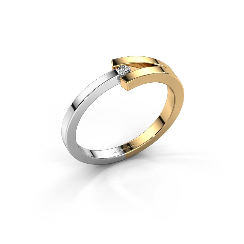 Ring Sofia 585 Gold Diamant 0.03 crt