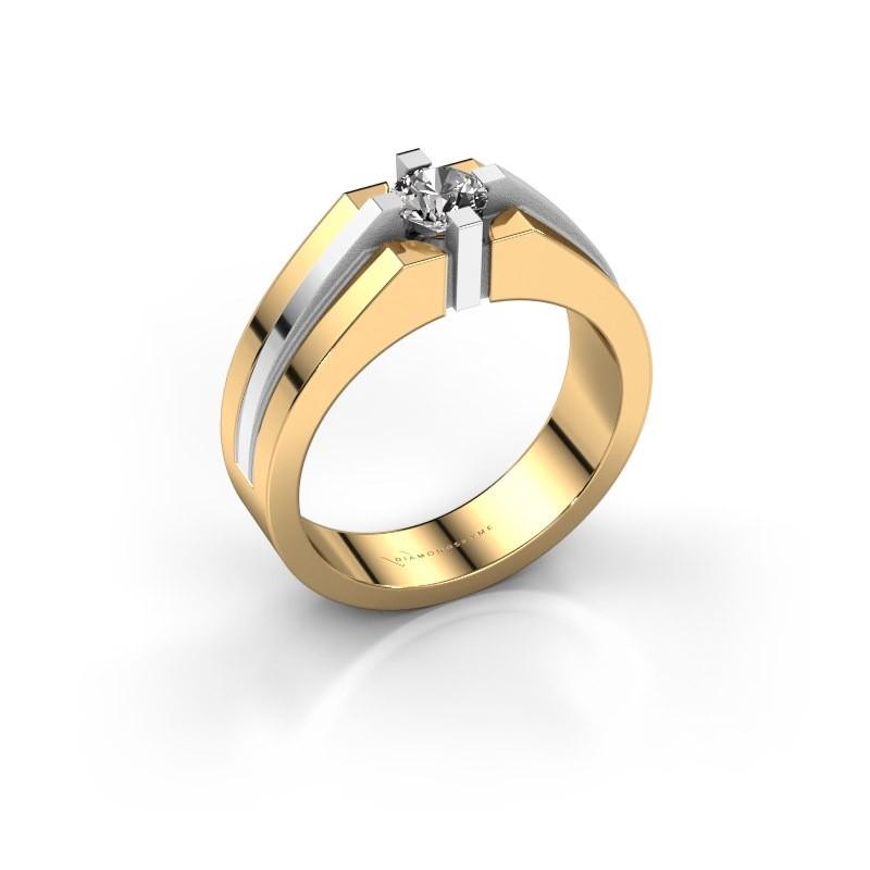 Heren ring Kiro 585 goud diamant 0.50 crt