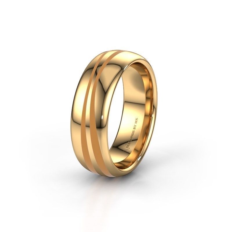 Weddings ring WH2226M36BP 375 gold ±7x2 mm