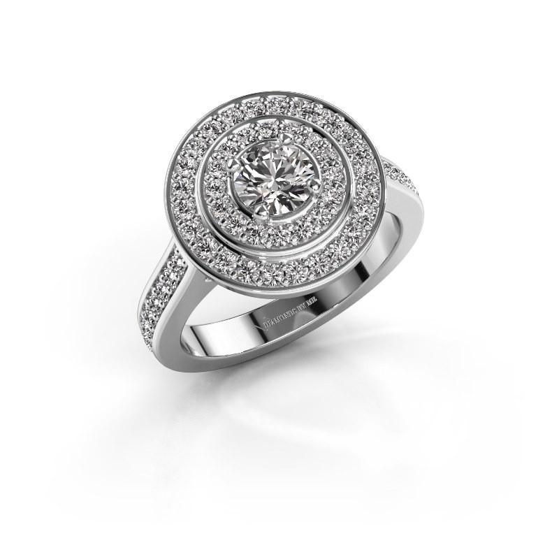 Ring Alecia 2 925 zilver diamant 0.99 crt