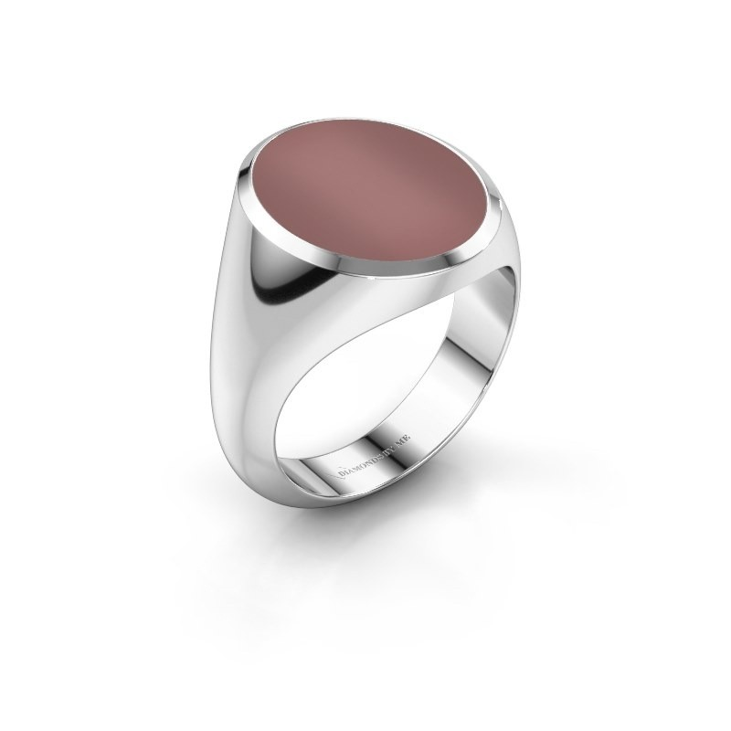 Signet ring Herman 6 950 platinum carnelian 16x13 mm