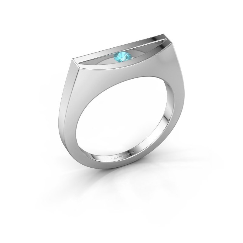Ring Milou 925 Silber Blau Topas 3 mm