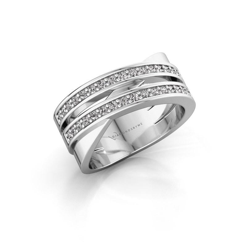 Ring Margje 585 white gold diamond 0.32 crt