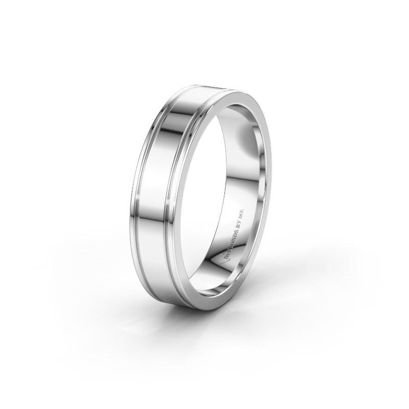 Wedding ring WH0600M15AP 950 platinum ±5x1.7 mm