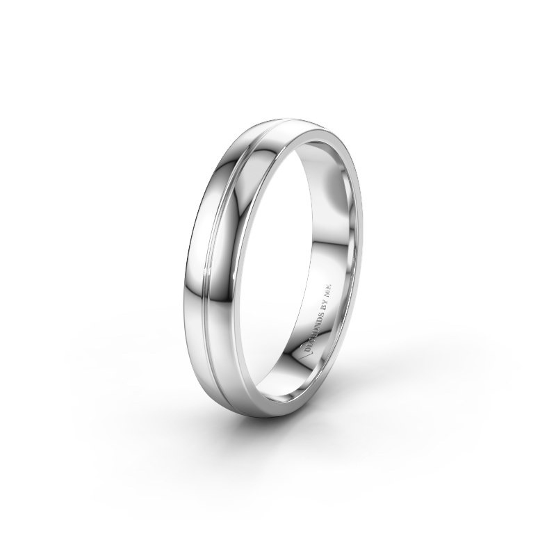Wedding ring WH0254M24X 925 silver ±4x1.5 mm