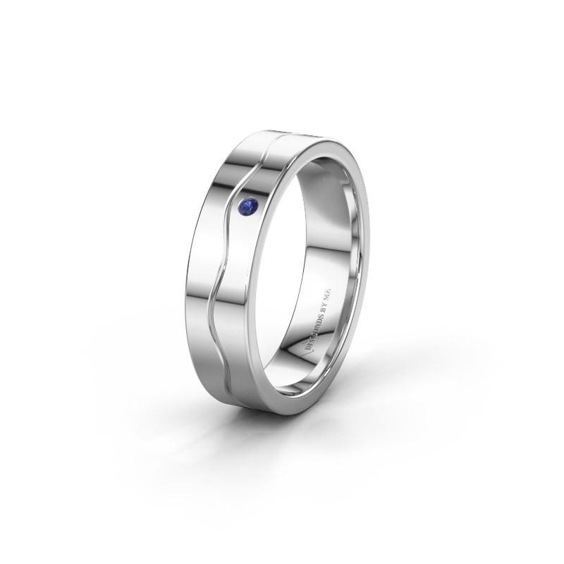 Ehering WH0701L15AP 925 Silber Saphir ±5x1.7 mm