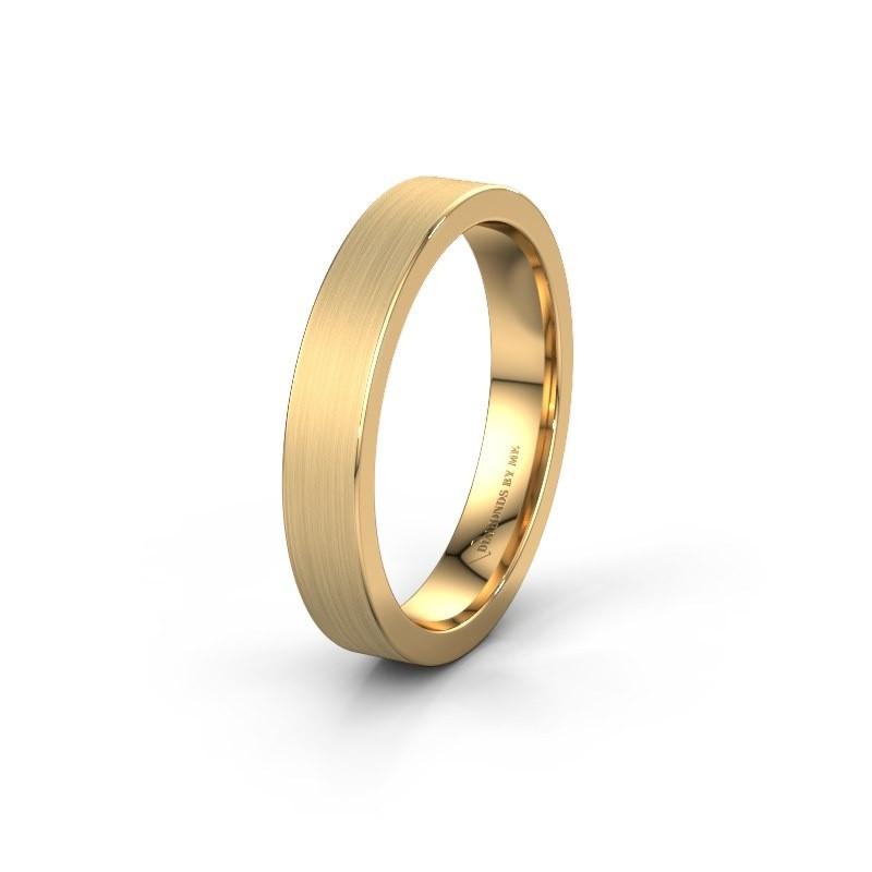 Trouwring WH0100M14BM 585 goud ±4x2 mm