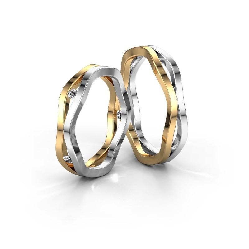Gold mit wei gold 5 mm eheringe selbst entwerfen wh2122lm for 2533 raumgestaltung und entwerfen