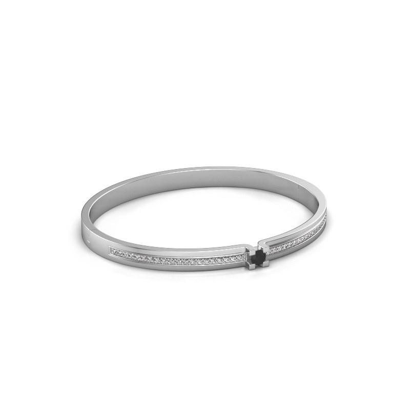 Bracelet Myrthe 585 white gold black diamond 0.792 crt