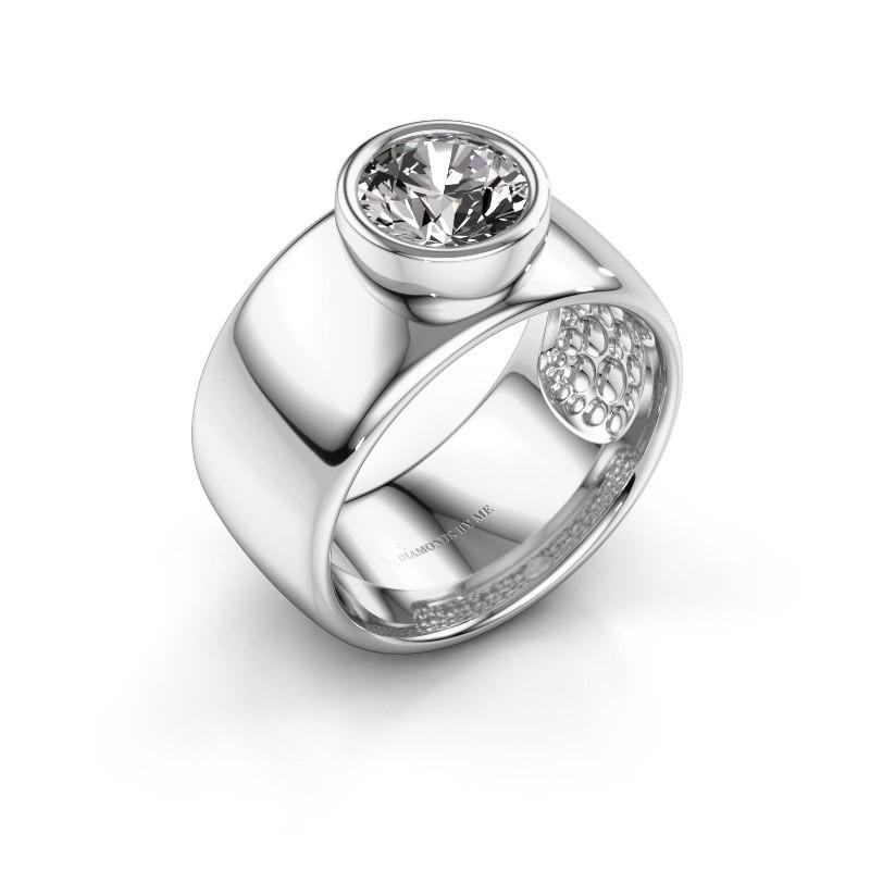 Ring Klarinda 925 silver diamond 1.30 crt