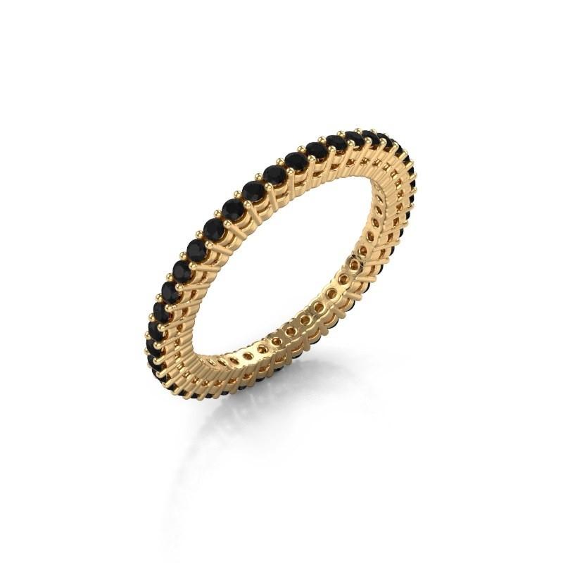 Aanschuifring Rufina 1 375 goud zwarte diamant 0.72 crt