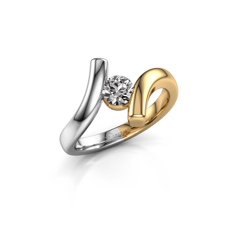 Ring Amy 585 goud diamant 0.40 crt