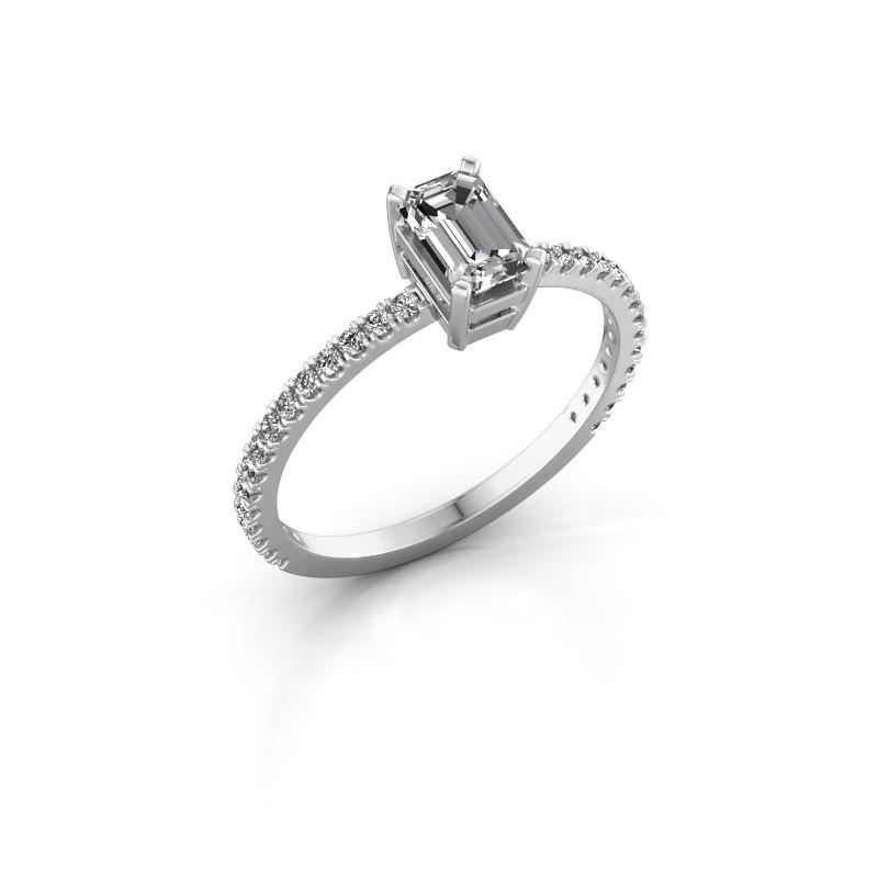 Engagement ring Denita 2 950 platinum diamond 0.70 crt