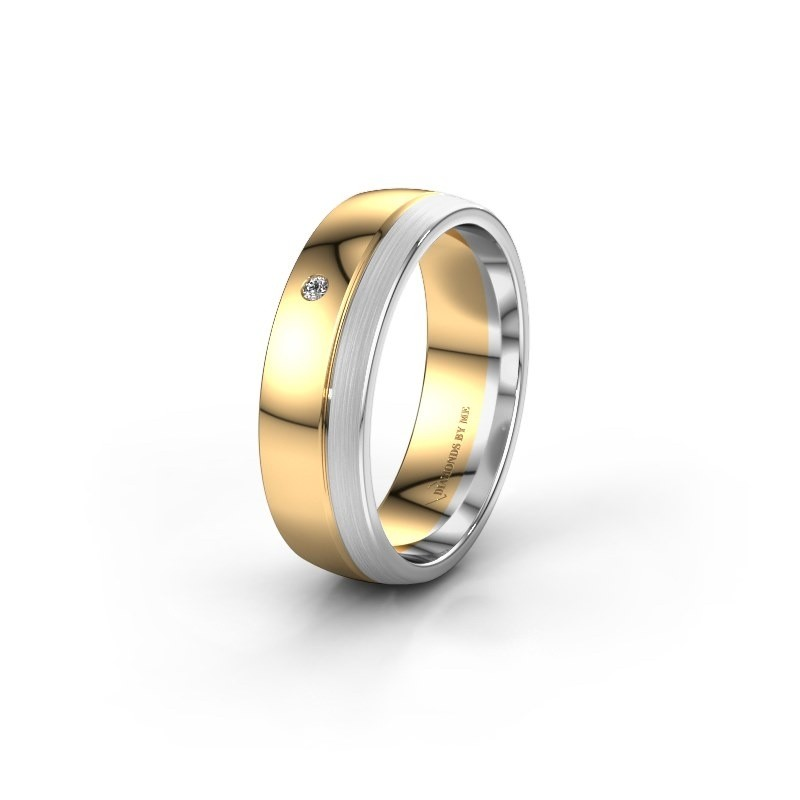 Ehering WH0301L26APM 585 Gold Zirkonia ±6x1.7 mm