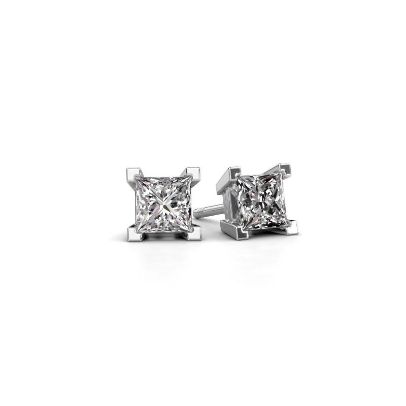 Oorknopjes Ariane 950 platina lab-grown diamant 1.56 crt