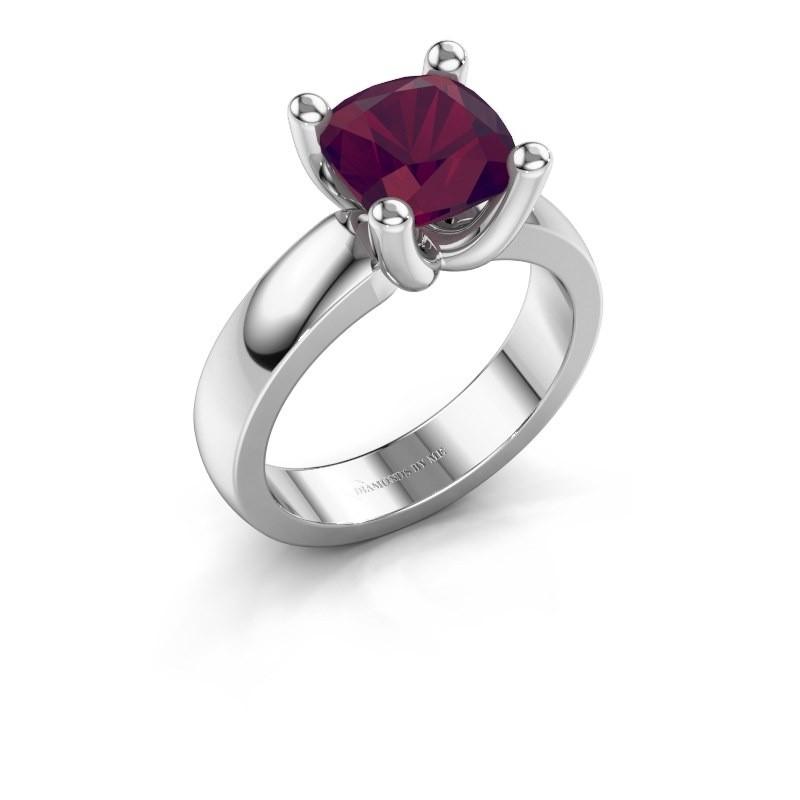 Ring Clelia CUS 925 Silber Rhodolit 8 mm
