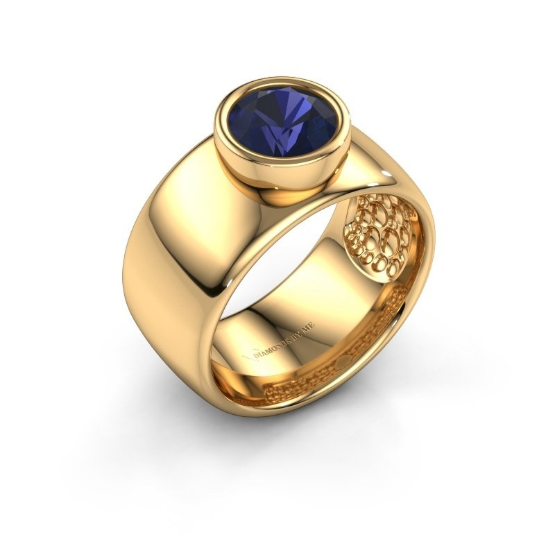 Ring Klarinda 585 gold sapphire 7 mm