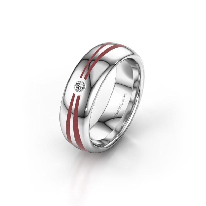 Wedding ring WH2226L36BP 950 platinum ±6x2 mm
