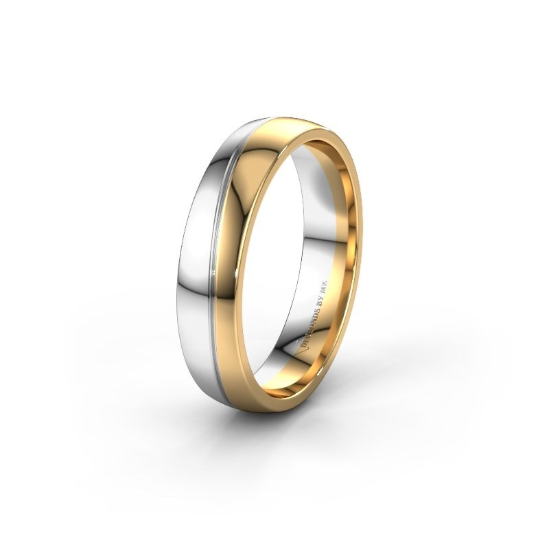 Wedding ring WH2118M25A 585 gold ±5x1.7 mm