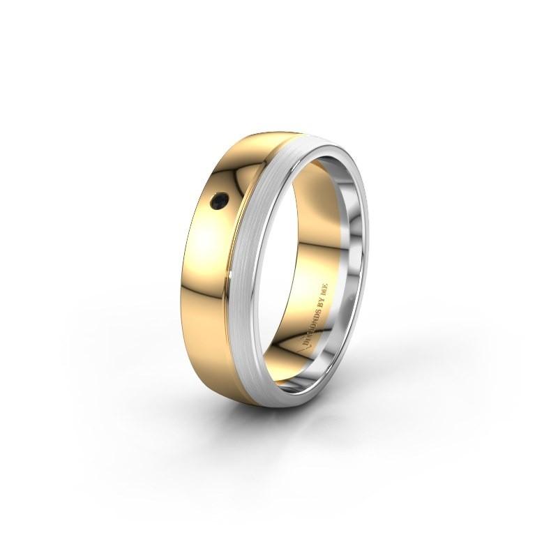 Ehering WH0301L26APM 585 Gold Schwarz Diamant ±6x1.7 mm