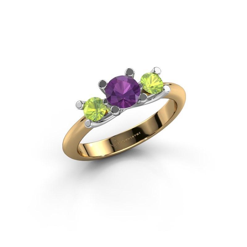 Ring Mirthe 585 gold amethyst 5 mm