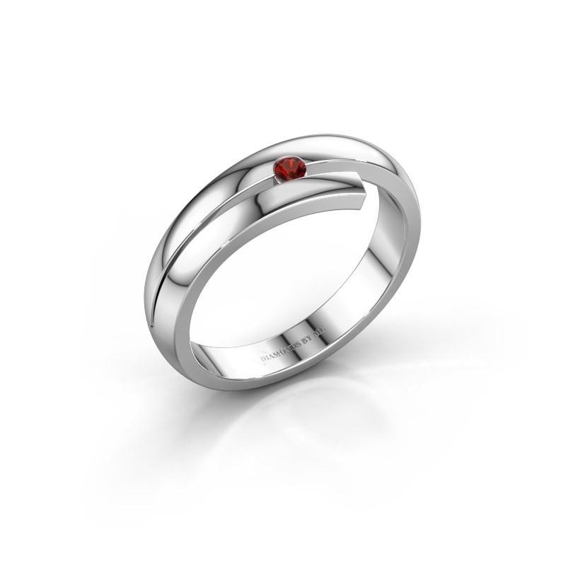 Ring Shela 925 zilver granaat 2.2 mm