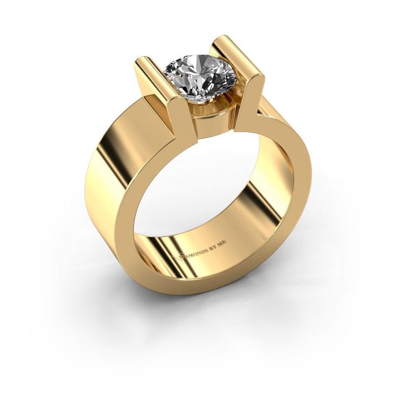 Verlovingsring Sofie 1 585 goud diamant 1.00 crt