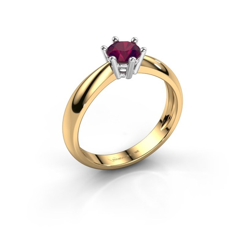 Verlovingsring Fay 585 goud rhodoliet 5 mm