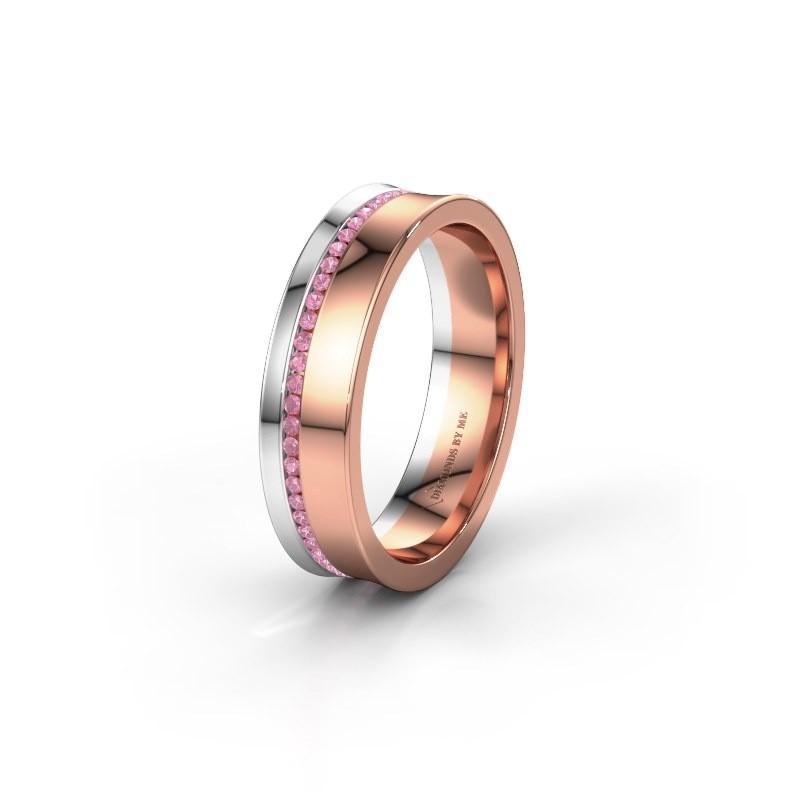 Ehering WH6090L55A 585 Roségold Pink Saphir ±5x1.7 mm